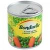 Горошек зелёный «Бондюэль» с молодой морковью
